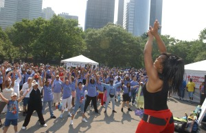 SusieQ Leads Annual Asthma Breathe Easy NYC!
