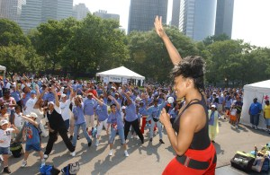 SusieQ Leads The Annual Asthma Walk