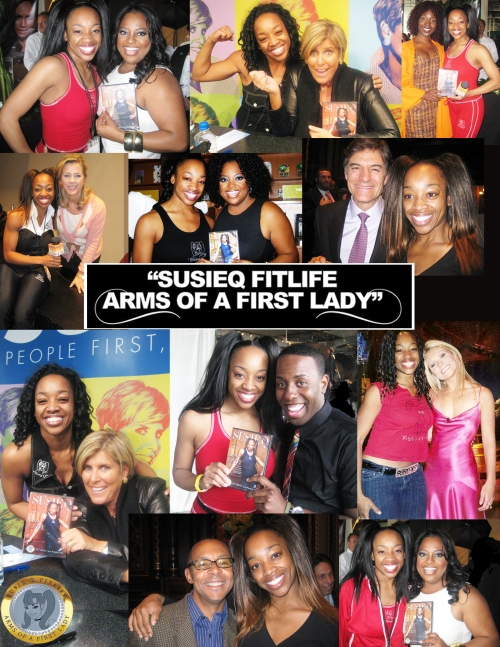 SusieQ & The Celebrities Buzzing about The Arms of a First Lady! DVD